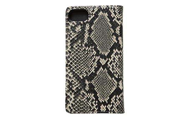MGL-AC37 BOOK STYLE PYTHON iPhone CASE(2)